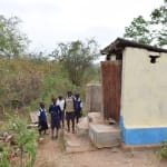 The Water Project: Ndiani Primary School -  Boys Latrines