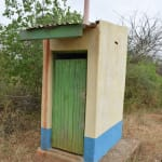 The Water Project: Ndiani Primary School -  Staff Latrine
