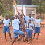 The Water Project: Mbuuni Primary School -  Pole Vaulting