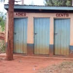 The Water Project: Mbuuni Primary School -  Staff Latrines