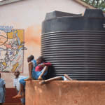 The Water Project: Mbuuni Primary School -  Water Storage Tank