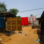 The Water Project: Pewullay Primary School -  Clothesline