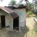 The Water Project: Pewullay Primary School -  Latrine