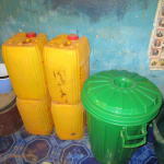 The Water Project: Pewullay Primary School -  Water Storage Containers