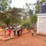 The Water Project: Mbuuni Primary School -  Borehole System