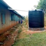 The Water Project: Bumuyange Primary School -  The Plastic Tank For Preschool Children