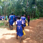 The Water Project: Bumuyange Primary School -  Walking To The Spring