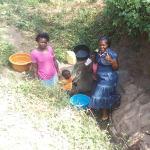 The Water Project: Shiamala Community, David Ashiona Spring -  Clean Water