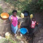 The Water Project: Shiamala Community, David Ashiona Spring -  Rose Achina With Lavine Khalachi