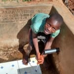 The Water Project: Eluhobe Community, Amadi Spring -  Reliable Water Flowing