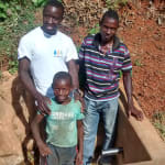 The Water Project: Eluhobe Community, Amadi Spring -  Smiles For Reliable Water