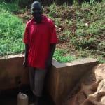 The Water Project: Nyira Community, Ondiek Spring -  Oliver Ondiek