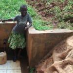 The Water Project: Nyira Community, Ondiek Spring -  Precious Muyonga