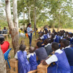 The Water Project: Ndiani Primary School -  Training