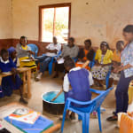 The Water Project: Ndiani Primary School -  Soapmaking Training