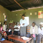 The Water Project: Elukho Community A -  Water User Committee Training