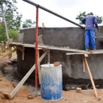 The Water Project: Ndiani Primary School -  Gutter System Construction