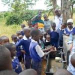 The Water Project: Ndiani Primary School -  Handwashing Training