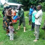 The Water Project: Mukhangu Community, Okumu Spring -  Handwashing Training