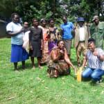 The Water Project: Mukhangu Community, Okumu Spring -  Handwahsing Training