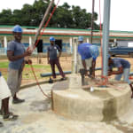 The Water Project: PC Bai Shebora Gbereh III Primary School -  Drilling