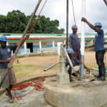 The Water Project: PC Bai Shebora Gbereh III Primary School -  Flushing