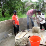 The Water Project: PC Bai Shebora Gbereh III Primary School -  Bricking The Well