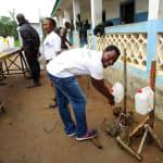 The Water Project: PC Bai Shebora Gbereh III Primary School -  Handwashing Training