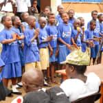 The Water Project: PC Bai Shebora Gbereh III Primary School -  Child Health Club Members