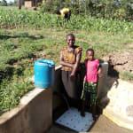 The Water Project: Timbito Community, Wakamu Spring -  Jentrine Nanzala And Angeline Ainea