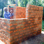 The Water Project: Bumuyange Primary School -  Latrine Construction