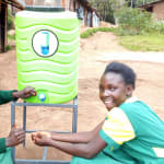 The Water Project: Gemeni Salvation Primary School -  Handwashing Station