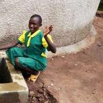 The Water Project: Gemeni Salvation Primary School -  Flowing Water