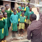 The Water Project: Gemeni Salvation Primary School -  Training On Tank Care