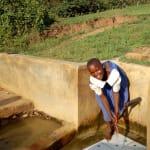 The Water Project: Ematiha Community, Ayubu Spring -  Mercy Amonyole