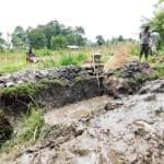 The Water Project: Bukhanga Community, Indangasi Spring -  Spring Excavation