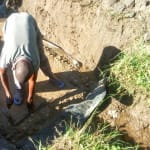 The Water Project: Bukhanga Community, Indangasi Spring -  Spring Protection