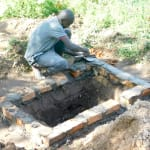 The Water Project: Bukhanga Community, Indangasi Spring -  Preparing The Pit For New Latrine