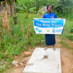 The Water Project: Bukhanga Community, Indangasi Spring -  Evelyne Nyangai By Her New Sanplat
