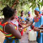 The Water Project: Tulun Community, Hope Assembly of God School and Church -  Making Tippy Taps