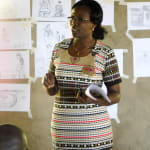 The Water Project: Bukhanga Community, Indangasi Spring -  Trainer Jacky