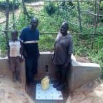 The Water Project: Mkunzulu Community, Museywa Spring -  Clarence Akanga And Shadrack Mwochi