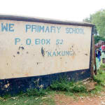 The Water Project: Ingwe Primary School -  School Gate