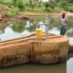 The Water Project: Maluvyu Community E -  Finished Well With Water