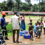 The Water Project: Pewullay Primary School -  Flushing