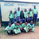 The Water Project: Ingwe Primary School -  Students At The Gate
