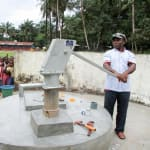 The Water Project: Pewullay Primary School -  Pumping Water