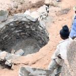 The Water Project: Maluvyu Community E -  Well Progress