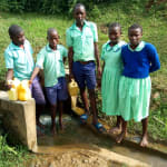 The Water Project: Ingwe Primary School -  Fetching Water