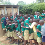 The Water Project: Kigulienyi Primary School -  Overcrowded Latrines